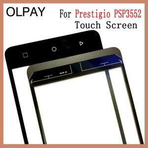 Image 3 - Olpay 5.5 prestigio muze h3 psp3552 psp 100% duo 전면 유리 터치 스크린 센서 패널 용 새 3552 휴대 전화 터치 스크린
