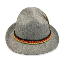 2019 Women Men Solid Fedoras Hats Colorful Ribbon Hat German