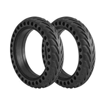 Neumático duradero para Xiaomi Mijia M365/ Pro, neumáticos sólidos para patinete, amortiguador, no neumático, rueda de goma
