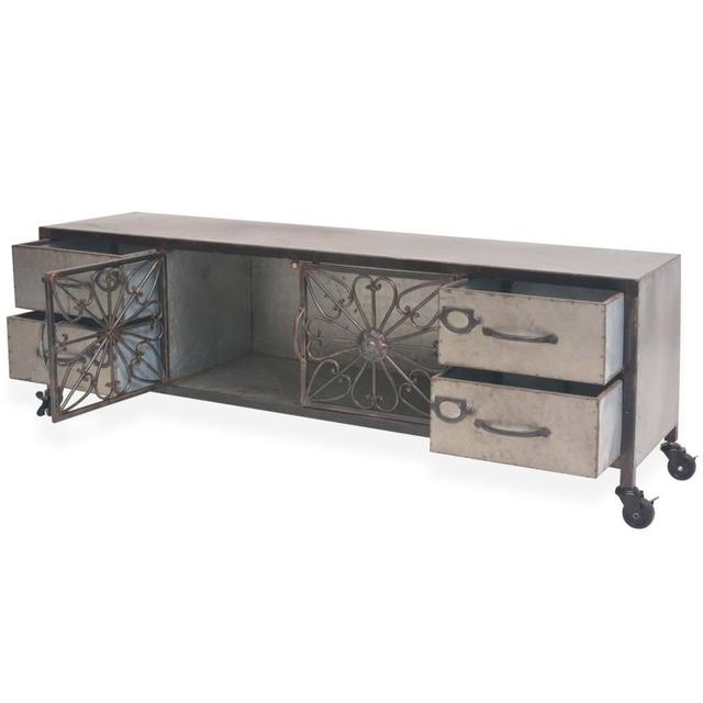 Modern LED TV Stand Cabinet  2