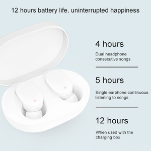 Image 3 - Xiaomi mi mijia airdots bluetoothイヤホンredmi twsステレオワイヤレスin 耳ヘッドセット低音若者のバージョンとマイクハンズフリー