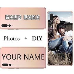 На Алиэкспресс купить чехол для смартфона soft silicone tpu cover phone cases diy custom name mobile case for huawei p30 p20pro lite mate 20 mate 10 pro lite