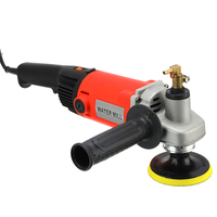 Electric Marble Granite Wet 1400W Stone Polisher Grinder Sander Hand Grinder M14 Water Mill Variable Speed Angle Grinder