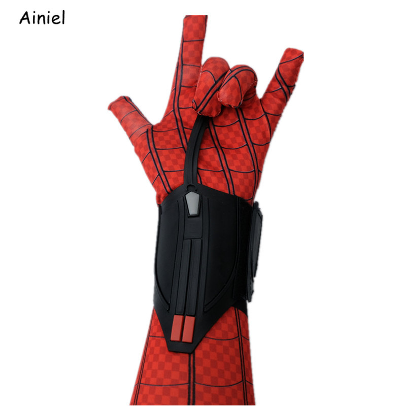 Spider-Man Homecoming Spiderman Peter Accessories Mask Shoes Bracer launcher