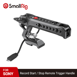 SmallRig Quick Camera Hand Grip NATO Top Handle with Record Start / Stop Remote Trigger for Sony Mirrorless Cameras 2670