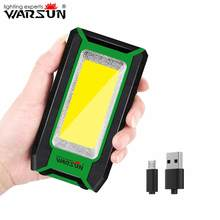 Warsun Y39 Spotlight Super Bright COB LED Job Light Rechargeable Flood 800 Lumens Inspection Lamp 10W for Car Repair Camping