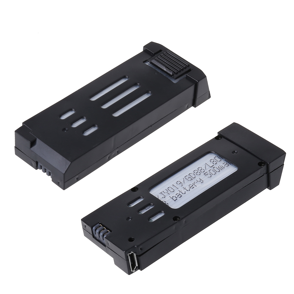 High Quality New <font><b>3.7V</b></font> 500mAh Capacity Quadcopter Spare Parts Universal <font><b>Lipo</b></font> <font><b>Battery</b></font> Outdoor For RC Aircraft Drone image