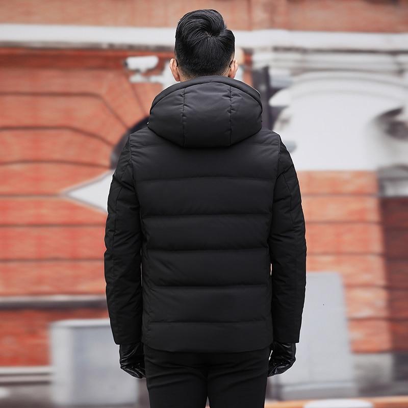 Plus Size 10XL 9XL New Winter Down Jacket Men's Zipper And Hat Casual Clothes Medium-and-Long Coat Suit