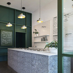 Postmodernistyczna lampa wisząca LED lastryko Cement oświetlenie styl skandynawski sypialnia nocna lampa do salonu oświetlenie do restauracji oprawy w Wiszące lampki od Lampy i oświetlenie na