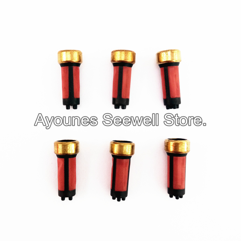 <font><b>MD619962</b></font> wholesale 50pieces high quality fuel injector filter 14*3*6mm for Ford Escort Injector repair kit for AY-F108B image