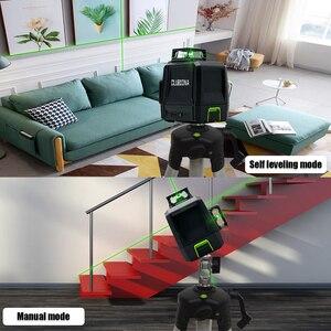 Image 5 - Clubiona CE Certificated 3D Đường Laser Với Pin 5200 Mah & Ngang Và Dọc Đường Làm Việc Riêng Đường Laser