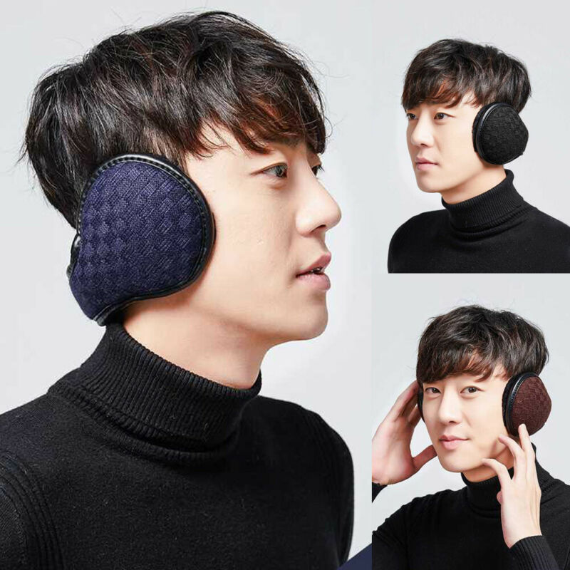 2020 Ear Muffs Winter Ear Warmers Fleece Earwarmer Mens Womens Behind The Head Band