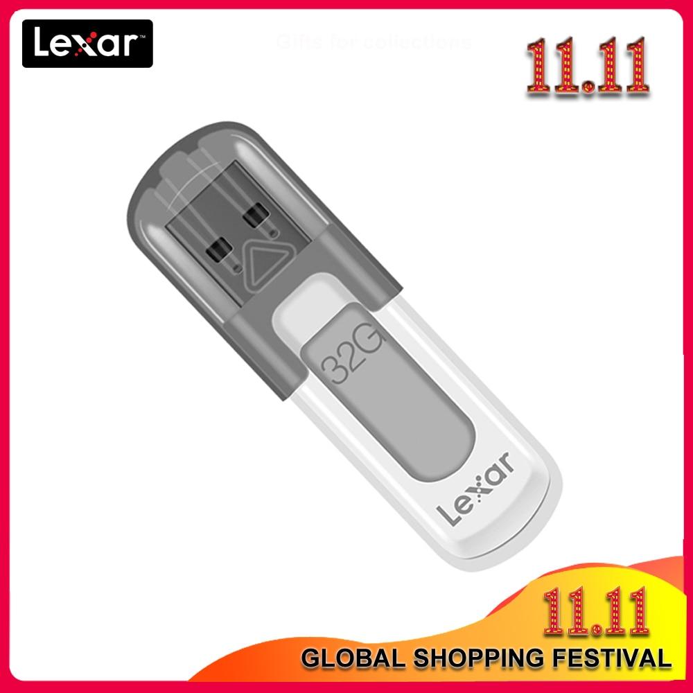 Original Lexar JumpDrive V100 USB 3.0 Flash Drive 128GB Pen Drive Memory stick