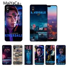 Fhnblj Riverdale South Side Slangen Zwarte Telefoon Case Voor Xiaomi Redmi Note4 MIX2 MIX2S Max2 Max3 Mi6 Mi8 Redmi5 5plus(China)