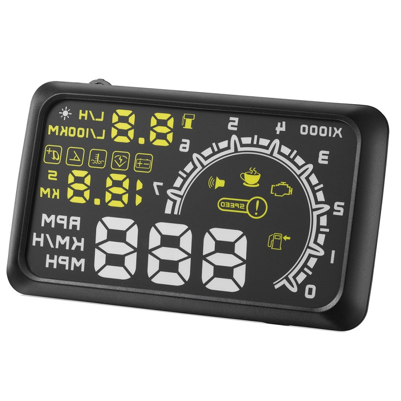 lowest price On-board Computer Car Speed Projector Speedometer Head-up Display Hud Obd2 Windshield Projector Engine Failure Fuel Consumption