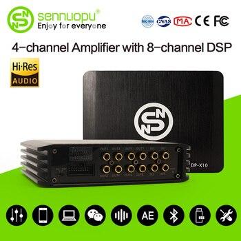 Sennuopu Car Digital DSP Amplifier 4X72W Power Car Audio processor Amplifier 31 Bands DSP  Equalizer Precision Tuning isudar da04 car dsp amplifier for vw skoda old version auto digital audio processor 700w bluetooth 5 0 filter 31 bands eq