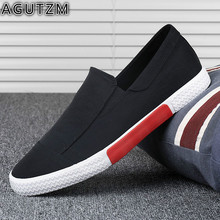 Spring Men Canvas Shoes Men's Fashion Solid Comfortable flat Casual Shoes Men Light Summer Loafers Shoes Plus Size 38-44 m10 spring new solid men s flats shoes casual canvas man fashion summer shoes for men lace up solid comfortable men loafers