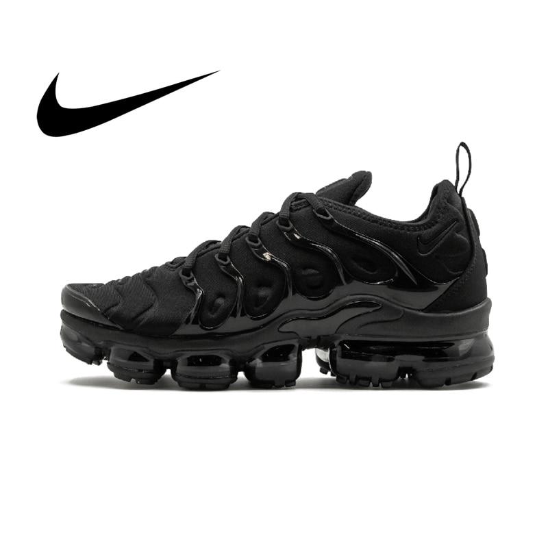 Nike Air Vapormax Plus TM Men's Breathable Running Shoes Outdoor Sport Sneakers Walking Jogging Top Quality Footwear 924453-004