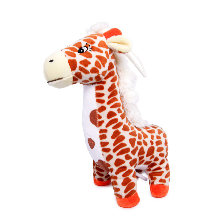 Giraffe Music Pulling Bell Baby Bed Bell Can Used For Do Car Hanging Bed Hanging Super Soft Baby Toys Music Box