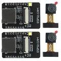 2 комплекта Esp32-Cam Камера Wifi + Bluetooth модуль 4M Psram двухъядерный 32-битный процессор макетная плата с Ov2640 2Mp Камера модуль Sup