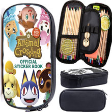 Animal crossing games high capacity pencil case boys girls students
