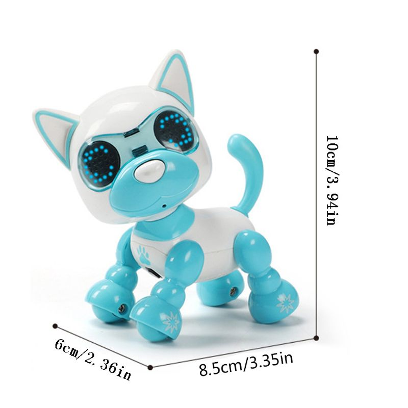 Robot Dog Robotic Puppy Interactive Toy Birthday Gifts Christmas Present Toy For Children  72XC