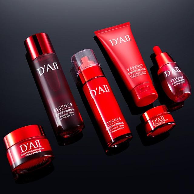 Skin Care Set Face Toner Essence Eye Cream Lotion Facial Cleanser Serum Nicotinamide Nourish Anti-Aging Cosmetics Kit Women M 2