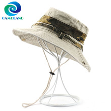 Boonie-Caps Uv-Protection Bucket-Hat Upf 50 Hiking CAMOLAND Women Summer Outdoor Cotton