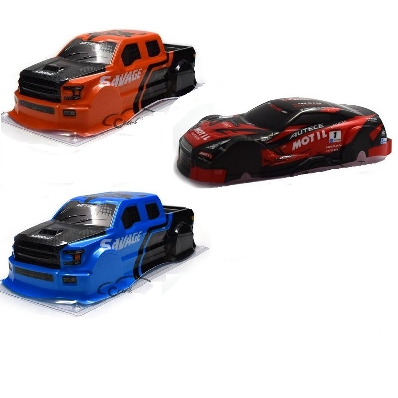 2019 Newest 1/18 RC Truck Shell Body  Multiple Styles /rc Car Body Shell Parts