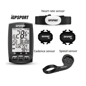 Image 1 - IGPSPORT IGS50E Waterproof IPX7 Bike Computer GPS ANT+ Wireless Speedometer Bicycle Digital Stopwatch Cycling Speedometer