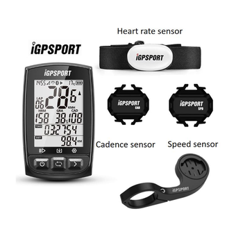IGPSPORT IGS50E Waterproof IPX7 Bike Computer GPS ANT+ Wireless Speedometer Bicycle Digital Stopwatch Cycling Speedometer igs50e 40 hours long battery life gps sport bike gps bicycle gps bike computer workable with speed cadence heart rate