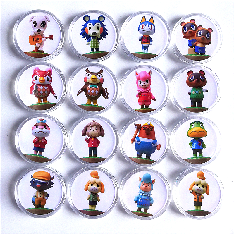 Game-Tag Card Amiibo-Collection Crossing Animal Festival Data Coin-Nfc Of 16pcs/Set New