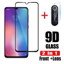 Защитное стекло, Закаленное стекло 2 в 1для Xiaomi Mi9/SE