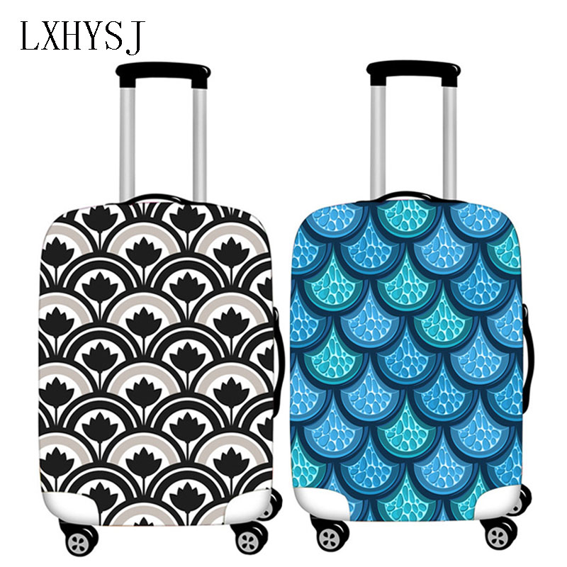 New Travel Luggage Protective Cover Elastic Suitcase Case For 18-32 Inch Trolley Case Dust Cover Travel Accessories