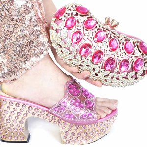 Free shipping lovely pink shoe