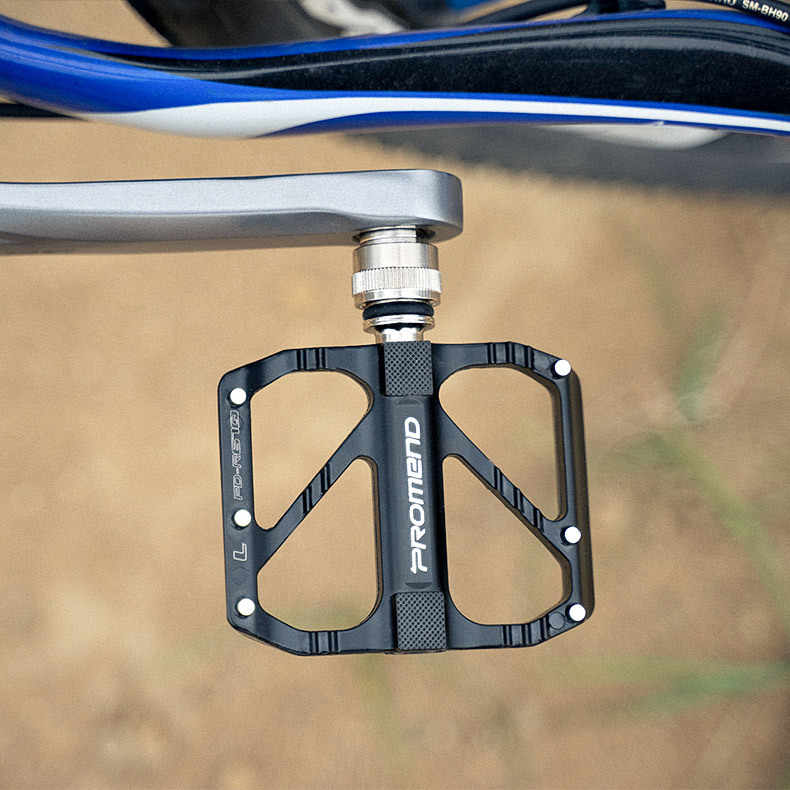 3-Sealed Bearings Bicycle Pedals Lightweight MTB Polishing Aluminium Alloy