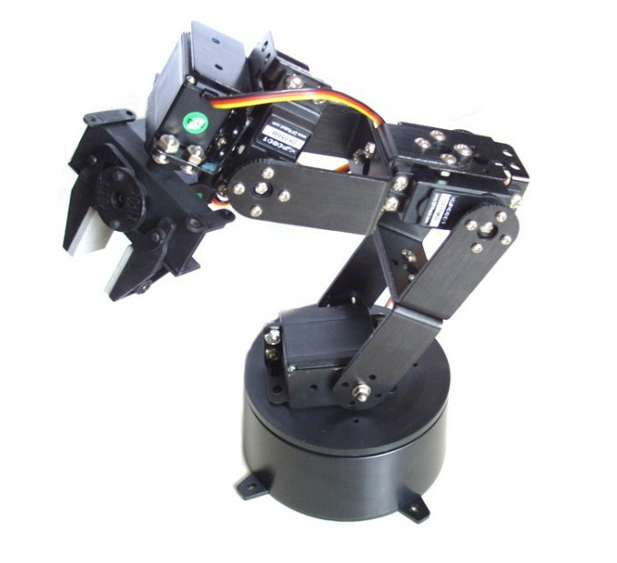 Free Shipping For DFLG6DOF Imported Gripper 6 Freedom Manipulator Arduino Experimental Teaching Platform
