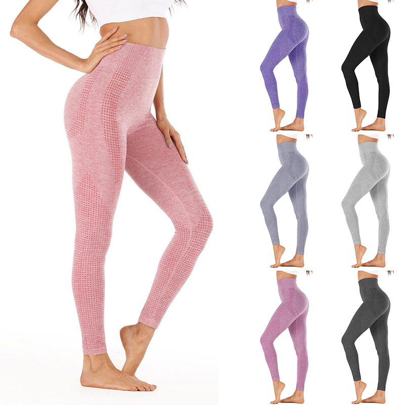 Sfit High Waist Stretch Gym Leggings Seamless Shark Sports Leggings Running Sportswear Women Fitness Pants Yoga Pants Women|Yoga Pants| - AliExpress