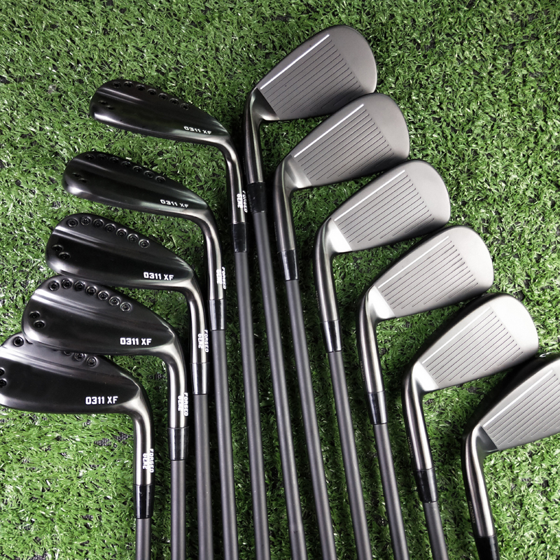 Golf Clubs 11xf Gen2 Black Irons Set 4-9wg Gen2 11xf Golf Iron Steel Shaft Or Graphite R Or S Golf Shaft Free Shipping Free