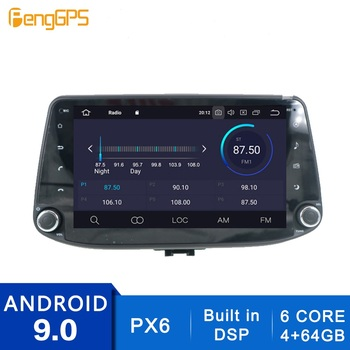 2 Din Stereo Android 10.0/9.0 Car Radio for Hyundai i30 2017 2018 Built-in DSP GPS Navigation CD DVD Player Bluetooth Head Unit image