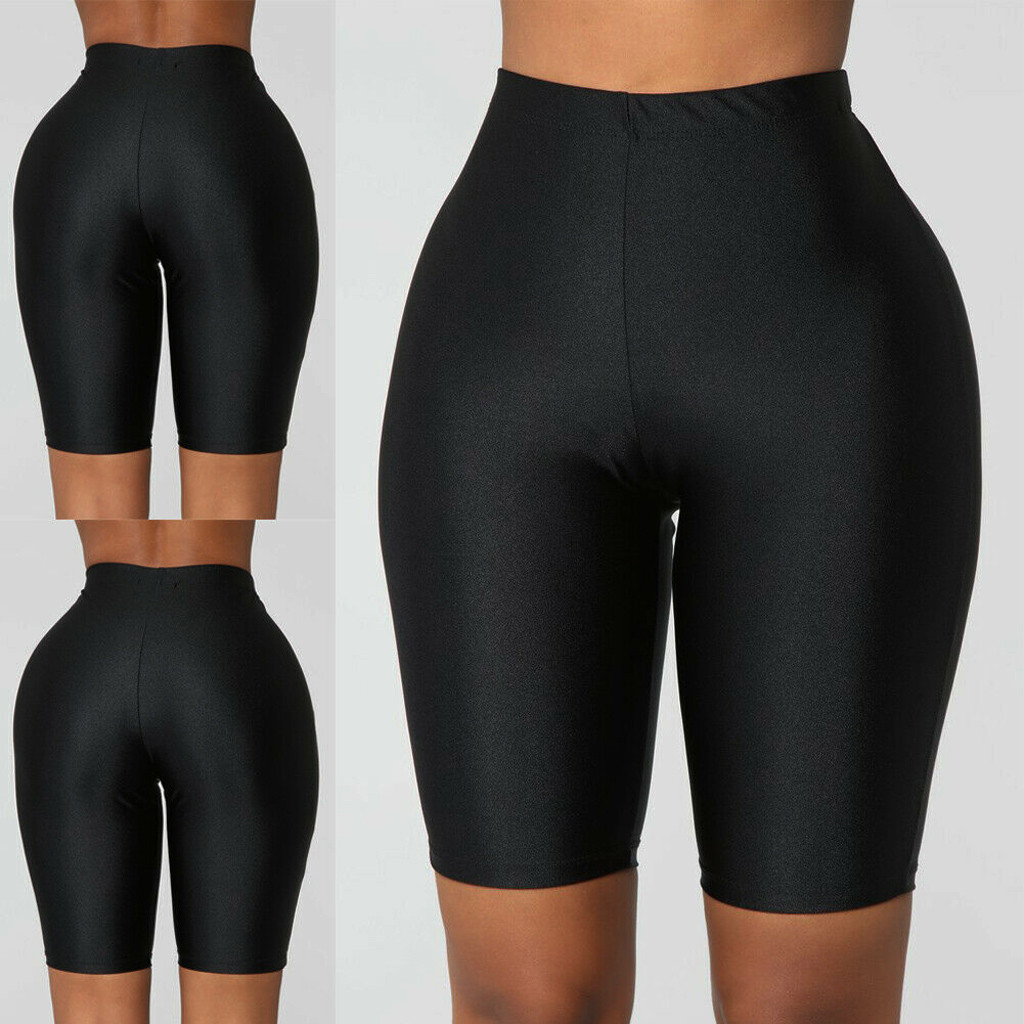 Leggings 2019Top Fashion Womens Bike Elastic High Waist Leggings Sports Casual Pants