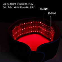 Infrared LED Light Therapy Wrap Arthritis Recovery Muscle Pain Relief Relax Shoulder Belt Brace Stretchable With Rubber Band