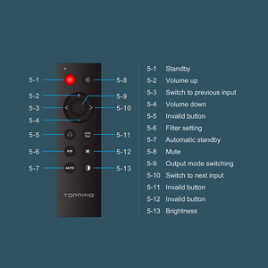 Image 4 - TOPPING D90 MQA AK4499 AK4118 tam dengeli DAC Bluetooth 5.0 DSD512 yüksek çözünürlüklü dekoder