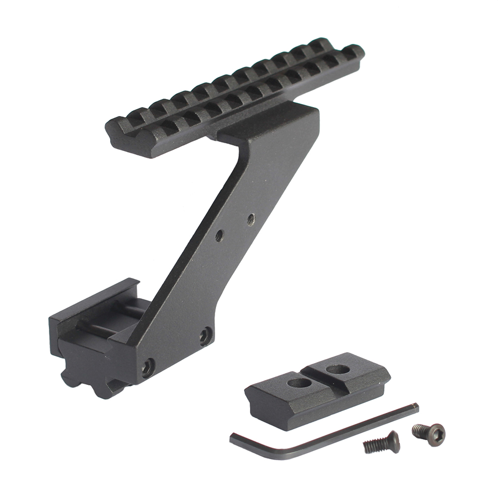 Picatinny Rail red dot Scope Sight Polymer Base Mount for Glock models hunting