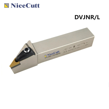 Nicecutt DVJNR/L External Turning Tool Holder For Turning Insert VNMG1604 Lathe Cutter Freeshipping With High Quality free shipping external turning tool holder dwlnr lathe cutter dwlnr2020k08 dwlnr2525m08 for turning insert wnmg080408 nicecutt