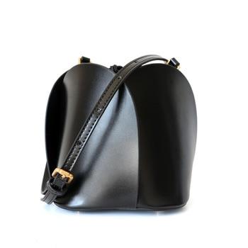 Women real leather Bucket Bag mansur lady genuine leather shoulder Bags gavriel leather handbag luis vuiton gg bag handbags