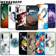 WEBBEDEPP Yin Yang Koi Fish Soft TPU Case for Xiaomi Mi 6 8 A2 Lite 6 9 A1 Mix 2s Max 3 F1 9T A3 Pro CC9E Cover webbedepp yin yang koi fish soft tpu case for xiaomi mi 6 8 a2 lite 6 9 a1 mix 2s max 3 f1 9t a3 pro cc9e cover