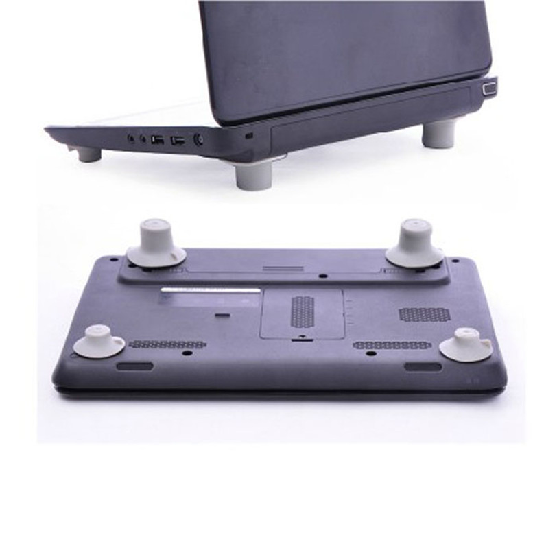 4pcs Notebook Accessory Laptop Heat Reduction Pad Cooling Feet Holder Jul17 Professional Factory Price