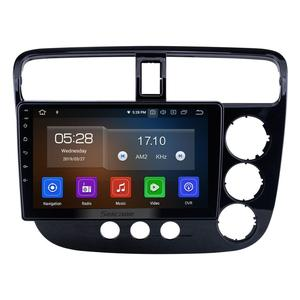 Seicane 9 inch Android 10.0 for 2001-2005 Honda Civic RHD Manual A/C Radio GPS Navigation System Bluetooth Carplay support RDS