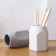 Creative Simple Pen Holder Silicone Pencil Stand Desktop Storage Case Box Office Decoration Organizer Stationery School Supply